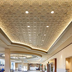 DECO 2 SQUARE ACOUSTIC Ceiling Tile, GRG