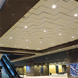 Square Drop 3 Ceiling Tile, GRG