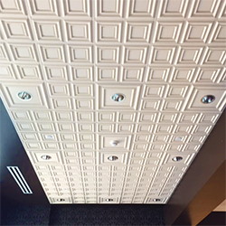 Traditional Quarter Panel Ceiling Tile, GRG