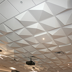Pyramid 4 Ceiling Tile, GRG