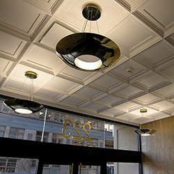 Executive Coffer Ceiling Tile, GRG